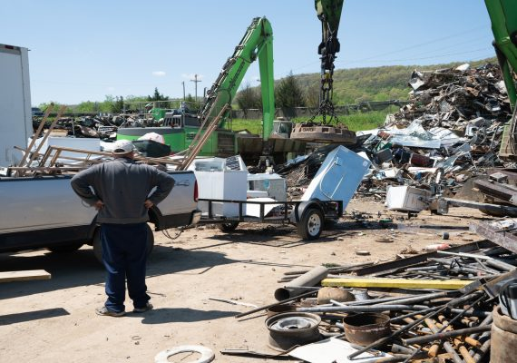 Roane Metals Scrap Metal pick up in East Tennessee